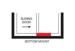 Autoslide Bottom Mount